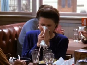ELAINE-BLOWS-HER-NOSE