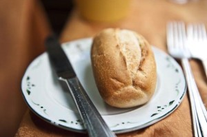 Bread Roll Plate