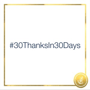 #30ThanksIn30Days