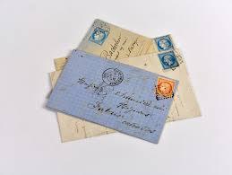 Letter addressed